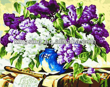 oil paint by numbers on canvas children painting set