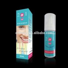 peróxido de libre 2 1 en espuma de pasta de dientes