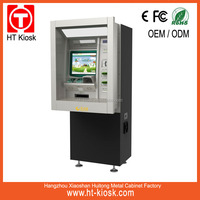 ATM machine with pin pad for telecom company