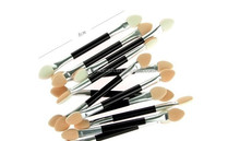 Beauty Products Contour Eyeshadow Brush Wooden Eyes Cream Applicators