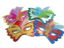 THREE FEATHER MASK
