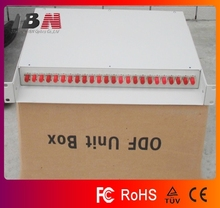 24 core 19 inch Fiber Optic Terminal Box Fc port,1.1 thickness