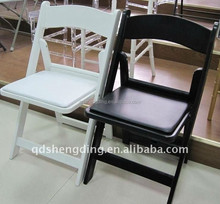 2015 hot selling cheap and fine resin folding chair
