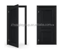 2015 Traditional interior pvc wooden doors for bathroom