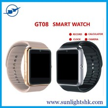 3-in-1 Touch Screen Unlocked Watch Cell Phones + Pedometer + Bluetooth Smart Watches cheap smart watch bluetooth phone
