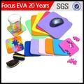 La promoción del ratón almohadilla de material/mouse pad en blanco