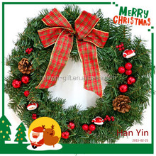 2015 new design hot sale hang christmas tree garland