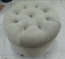 Round stools price wooden chairs Home furniture ottoman