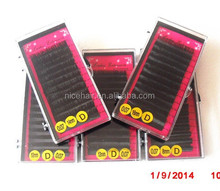 Big off sale imported material from Korean fake mink lash extension eyelash extensions with competitive price