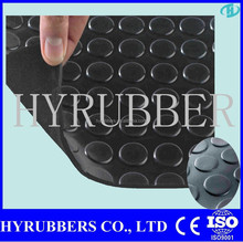 Rubber Studded anti slip circle Flooring mat