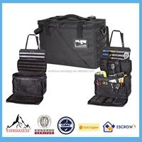 Black Practical Durable Patrol Bag Police Organizer Tool Kit Bag