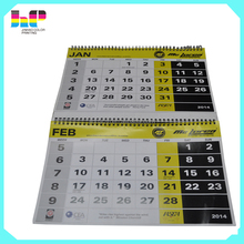 Custom design your own coloring calendar printing/2016 wall calendar printing