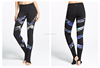 OEM factory panther clothing Womens High Waist Fitness YOGA Sport pants Printed Stretch nude girls pictures sexy leggings