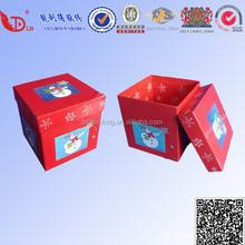 Manufacturer paper box gift recycled box packaging / paper gift set packaging box