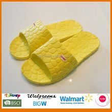Summer wholesale yellow lady footwear
