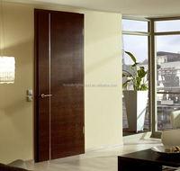 Cheap Wholesale Prefinished Interior Door Solid Wooden Door