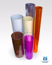China supplier pvc cover plastic sheet for printing