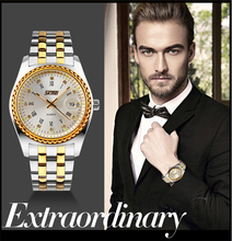SKMEI 9098 High quality luxury diamond men gold watches with wholesale price