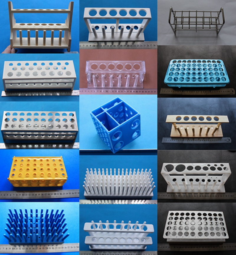 Snap together Self assembly Grip test tube rack with Wire ...