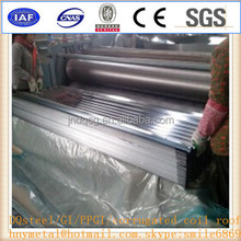 PPGI Color Coated Corrugated Metal Roof for Building Material using in steel structure