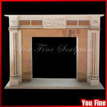 Elegant decor flame decorative wall mounted electric fireplace