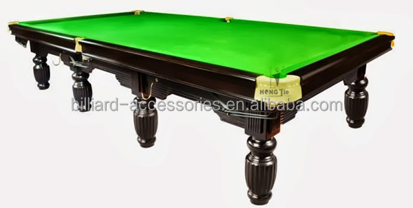 High quality of 12ft solid wood billiard snooker table for 12 ft snooker table