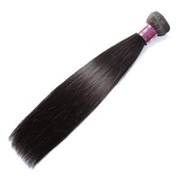 2015 XBL New Arrival 6A Virgin Hair 22 Inch Straight Real Brazilian Hair Weaving
