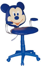 blue mickey mouse cartoon computer chair children room studying chair kids mini sofa with plastic leg C18