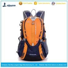 Canvas bag waterproof women&men travel backpack outdoor camping mochilas climbing hiking backpack bagpack sport back bag-orange