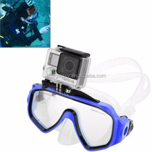 Water Sports Diving Equipment Diving Mask Swimming Glasses with Mount for Go Pro