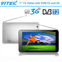 New 7'' Dual Core DVB-T2 Tablet with 3G Phone Call