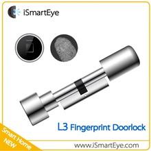 Outdoor Fingerprint Door Lock Cylinder Digital Lock For Sliding Door