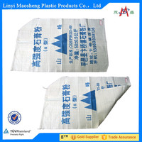 Recycle pp woven packaging bag with handle for carrefour