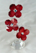 new style crystal flower love gift crystal gift items