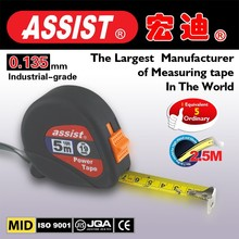 ABS rubber case with Stainless steel 3m 5m 7.5m of heavy duty tape measure