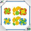 new design Educational toys Puzzle Card of spinning top for kids game
