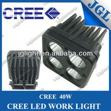 off road Light for fog utv atv truck bumper 40w cree led working lamp led work light for tractor
