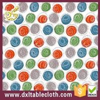 waxed plasticized picnic wholesale table cloth 60