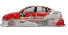 1/10 RC Car Body SHELL Audi Painted RC ON Road Car Shell Base