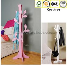 bedroom clothes hanger stand/wood hanger