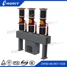 Ghorit breaker 33kv outdoor types of electrical vacuum circuit breaker