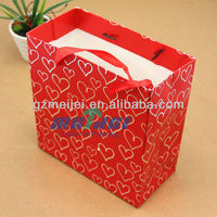 2013 hot selling paper gift bag with handle