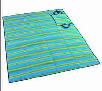 Handy Outdoor Mat with Strap Beach Camping Picnic Family Sitting And Relaxing