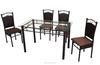 Best Sale Outdoor Furnture Metal Dinning Set Woven Rattan Furniture DS-815(1+4)