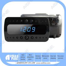 Clock Camera 1080P H.264 Hidden Secret Video Camera Clock Alarm Build In Invisible Camera with Motion Detector