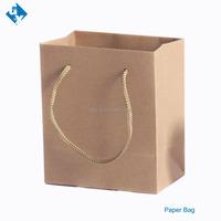 Shopper cloth paper bag kraft paper bag with handle