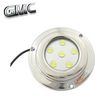 316 Stainless stell 6w led underwater marine boat fishing light