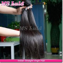 cut from healthy donor can be dye and perm straight indian hair weft