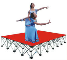 0.4 m high mobile stage for outdoor activity