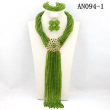 gorgeous necklace jewelry set bridal wedding dress match long layers design